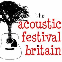 The Acoustic Festival of Britain | Uttoxeter Racecourse Uttoxeter  | Fri 21st May 2021 Lineup