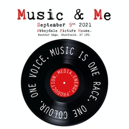 Music and Me Tickets | The Abbeydale Picture House Sheffield  | Thu 9th September 2021 Lineup