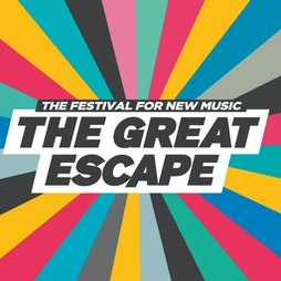 The Great Escape 2022 | Various Brighton  | Wed 11th May 2022 Lineup
