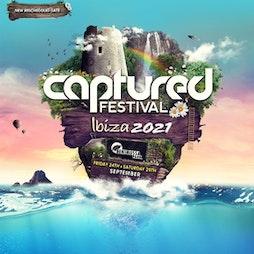 Captured Festival 2021 Tickets | Benimussa Park San Antonio  | Fri 24th September 2021 Lineup