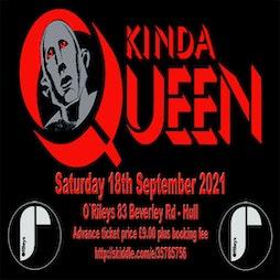 Venue: Kinda Queen @ Oriles Hull | ORILEYS LIVE MUSIC VENUE Hull  | Sat 18th September 2021