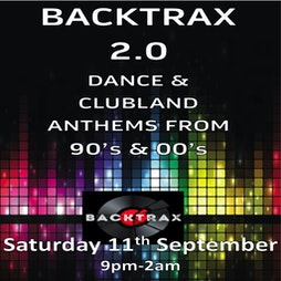 backtrax Tickets | Styx Glenrothes Glenrothes  | Sat 23rd October 2021 Lineup