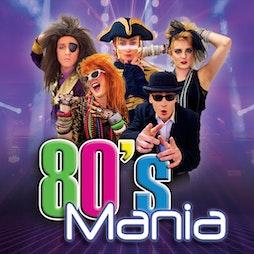 80s Mania   Shanklin Theatre Shanklin    Fri 27th August 2021 Lineup