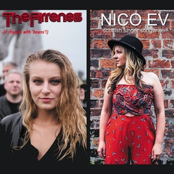 The Firrenes with Nico Ev Tickets   The 13th Note Glasgow    Sat 16th October 2021 Lineup