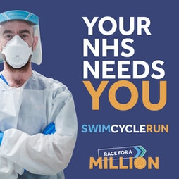 Race for a Million - virtual triathlon Tickets | Virtual Event Online  | Sat 1st May 2021 Lineup
