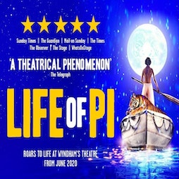 Life Of Pi | Wyndham's Theatre London  | Mon 11th October 2021 Lineup