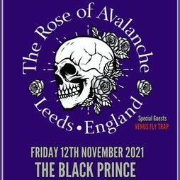 The Rose Of Avalanche Tickets | The Black Prince Northampton  | Fri 12th November 2021 Lineup