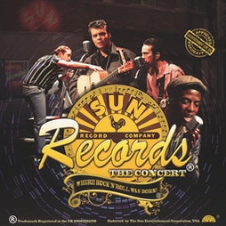 Sun Records, The Concert   Grimsby Auditorium Grimsby    Sun 5th September 2021 Lineup