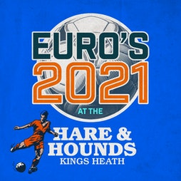 England vs Croatia [Room 2] Tickets   Hare And Hounds Birmingham    Sun 13th June 2021 Lineup