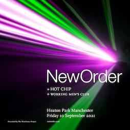 New Order at Heaton Park Tickets | Heaton Park Manchester  | Fri 10th September 2021 Lineup