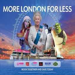 Merlin's Magical London: 3 Attractions In 1 -  The London Dungeon + Sea Life + Madame Tussauds | The London Dungeon London  | Sat 19th June 2021 Lineup