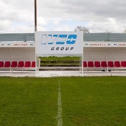 afc darwen v afc bury  Tickets   AFC Darwen Darwen    Sat 9th October 2021 Lineup