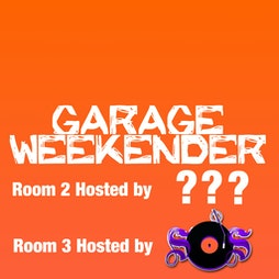 Garage Weekender Tickets | Pontins Pakefield Holiday Park Lowestoft  | Fri 3rd December 2021 Lineup