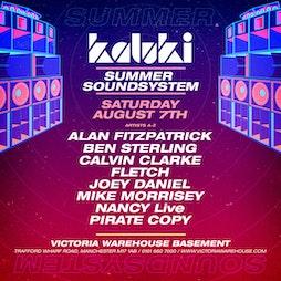 004 - Kaluki Summer Sound System Tickets | Victoria Warehouse Basement Manchester  | Sat 7th August 2021 Lineup
