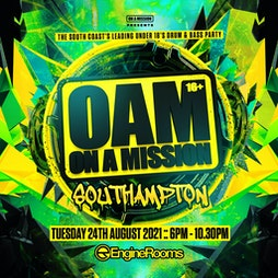OAM -18 Drum & Bass Warehouse Party Xmas party  Tickets   Engine Rooms Southampton    Sun 19th December 2021 Lineup