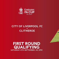 COLFC v Clitheroe, FA Cup 1st Qualifying Round Tickets | Vauxhall Motors FC Ellesmere Port  | Sat 4th September 2021 Lineup