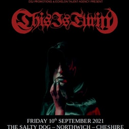 This Is Turin plus special guest Tickets | The Salty Dog Northwich  | Fri 10th September 2021 Lineup