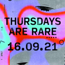 Return to RARE: Freshers Launch - Discount Guestlist Signup Tickets | The Tunnels Aberdeen  | Thu 16th September 2021 Lineup