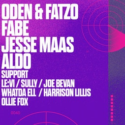 HOUSE OF LONDON - ODEN & FATZO / FABE / JESSE MAAS Tickets   The Green Room Maidstone    Sat 18th September 2021 Lineup