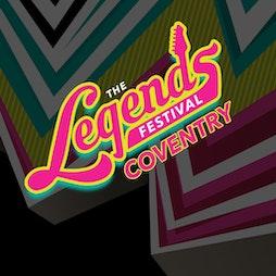 The Legends Festival - War Memorial Park, Coventry Tickets | War Memorial Park Coventry  | Sat 24th July 2021 Lineup