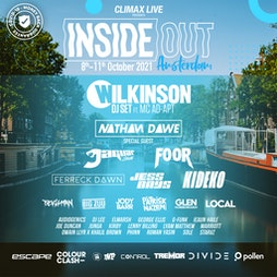 Inside Out Amsterdam - Party Passes Tickets   Amsterdam Amsterdam    Fri 8th October 2021 Lineup