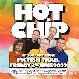 Hot Chip & Pictish Trail Tickets | Junction 1 Glasgow  | Fri 3rd June 2022 Lineup