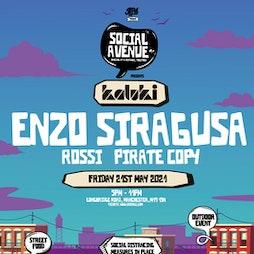Social Avenue presents Kaluki w/ Enzo Siragusa, Rossi Tickets | Social Avenue Trafford Park  | Fri 21st May 2021 Lineup