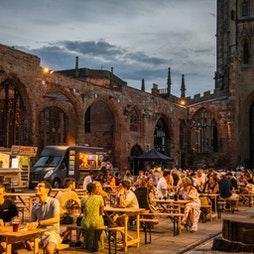 Coventry Dining Club Tickets   Coventry Cathedral Ruins Coventry    Sun 15th August 2021 Lineup