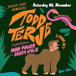 La Discotheque w/ Todd Terje Tickets | Boiler Shop Newcastle Upon Tyne  | Sat 6th November 2021 Lineup