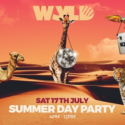 WYLD: Summer Daytime Party Tickets | LAB11 Birmingham  | Sat 17th July 2021 Lineup