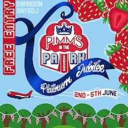 Pimms In The Park Tickets | Faringdon Park Swindon SN1 Swindon  | Sat 4th June 2022 Lineup