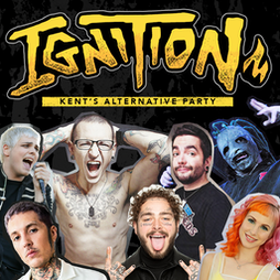 Ignition - Kent's Alternative Party Tickets | The Booking Hall Dover  | Fri 15th October 2021 Lineup