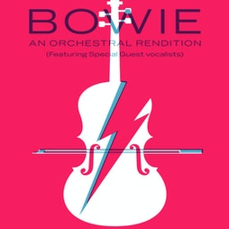 Bowie: An Orchestral Rendition Tickets   NIAMOS Formely The Nia Centre  Manchester    Fri 15th October 2021 Lineup