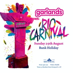 Garlands In The Garden Part 2 Tickets | Grand Central Hall Liverpool  | Sun 29th August 2021 Lineup