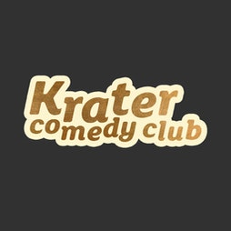 Krater Comedy Club | Komedia Brighton  | Fri 24th September 2021 Lineup