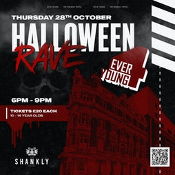4 Ever Young Halloween Event  Tickets   Garden Of Eden The Shankly HOtel Liverpool    Thu 28th October 2021 Lineup