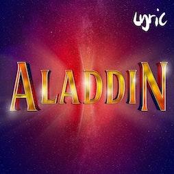 Aladdin (pantomime @ Lyric Hammersmith)   Lyric Hammersmith London    Wed 15th December 2021 Lineup