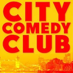 CITY COMEDY CLUB | Trapeze Basement London  | Sat 2nd October 2021 Lineup