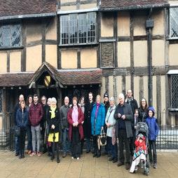 Sunday Guided Walking Tour | Swan Fountain On Waterside Stratford Upon Avon  | Sun 26th September 2021 Lineup