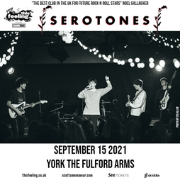 This Feeling - York  Tickets | The Fulford Arms York  | Wed 15th September 2021 Lineup