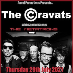 The Cravats with guests The Metatrons Tickets   Rough Trade Bristol    Thu 29th July 2021 Lineup