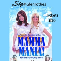 ABBA Tribute Tickets   Styx Glenrothes Glenrothes    Sat 27th November 2021 Lineup