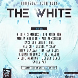 the closing parties - The White Party Tickets | The Knowsley Social  Knowsley Safari  Prescot  | Thu 15th July 2021 Lineup