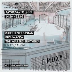 Moxy Muzik At Projekts Skatepark Tickets | Projekts Skatepark Manchester  | Sat 31st July 2021 Lineup