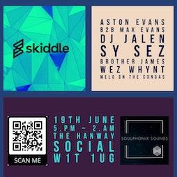 Venue: Soulphonix Sounds    The Hanway Social Club London    Sat 19th June 2021