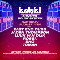 005 - Kaluki Summer Sound System Tickets | Victoria Warehouse Basement Manchester  | Sat 14th August 2021 Lineup