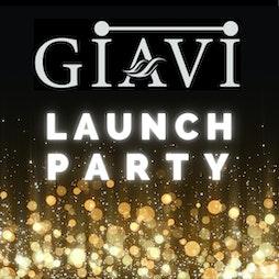 Venue: GIAVI Launch Party | Aures London Ltd London  | Sat 25th September 2021