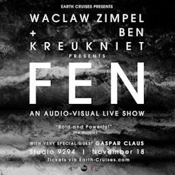 Waclaw Zimpel & Ben Kreukniet present FEN Tickets   Studio 9294 London    Thu 18th November 2021 Lineup