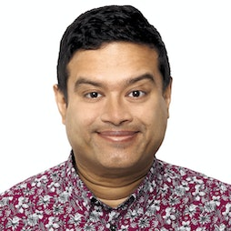 Paul Sinha - Hazy Little Thing Called Love Tickets   Southport Comedy Festival Under Canvas At Victoria Park Southport    Sat 9th October 2021 Lineup