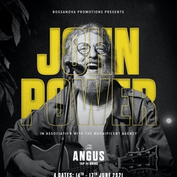 John Power at The Angus Tickets | The Angus Tap And Grind Liverpool  | Wed 16th June 2021 Lineup